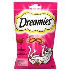 Dreamies z wyśmienitą wołowiną Karma uzupełniająca dla kotów i kociąt 60 g