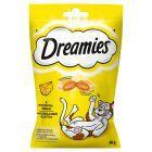 Dreamies z pysznym serem Karma uzupełniająca dla kotów i kociąt 60 g