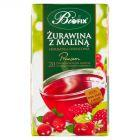 Bifix Premium żurawina z maliną Herbatka owocowa 40 g (20 saszetek)