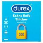 Durex Extra Safe Prezerwatywy 3 sztuki