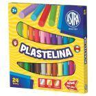 Astra Plastelina 24 kolory