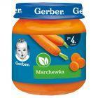 Gerber Marchewka po 4 miesiącu 125 g