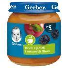 Gerber Krem z jabłek i suszonych śliwek po 5 miesiącu 125 g