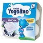 Nestlé Jogolino jagoda Deserek po 6 miesiącu 400 g (4 sztuki)