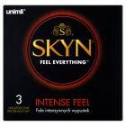 Unimil Skyn Intense Feel Nielateksowe prezerwatywy 3 sztuki