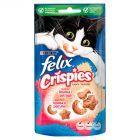 Felix Crispies Przekąska o smaku łososia i pstrąga 45 g