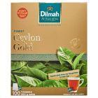 Dilmah Ceylon Gold Klasyczna czarna herbata 200 g (100 x 2 g)