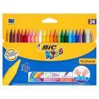Bic Kids Plastidecor Kredki świecowe 24 kolory
