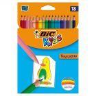 Bic Kids Tropicolors 2 Kredki 18 kolorów