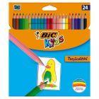 Bic Kids Tropicolors 2 Kredki 24 kolory