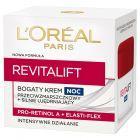 L'Oréal Paris Revitalift Bogaty krem przeciwzmarszczkowy i silnie ujędrniający na noc 50 ml