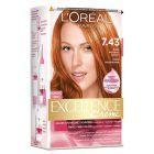 L'Oréal Paris Excellence Creme Farba do włosów 7.43 Blond miedziano-złocisty