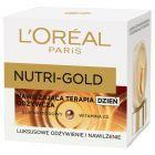 L'Oréal Paris Nutri Gold Nawilżająca terapia odżywcza na dzień 50 ml