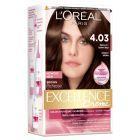 L'Oréal Paris Excellence Creme Farba do włosów 4.03 Świetlisty ciemny brąz