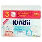 Cleanic Kindii Skin Balance Chusteczki do skóry normalnej 216 sztuk
