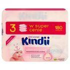 Cleanic Kindii Ultra Sensitive Chusteczki do skóry wrażliwej 180 sztuk