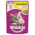 Whiskas z kurczakiem w sosie Karma pełnoporcjowa 50 g