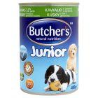 Butcher's Natural Nutrition Junior Kawałki w galaretce z jagnięciną Kompletna karma 400 g