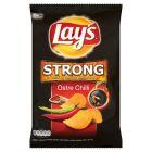 Lay's Strong Ostre Chilli Chipsy grubo krojone 225 g