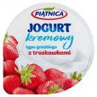 Piątnica Jogurt typu greckiego z truskawkami 150 g