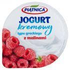 Piątnica Jogurt typu greckiego z malinami 150 g
