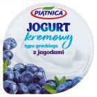 Piątnica Jogurt typu greckiego z jagodami 150 g