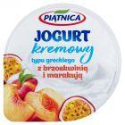 Piątnica Jogurt typu greckiego z brzoskwinią i marakują 150 g