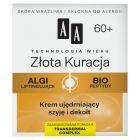 AA Technologia Wieku 60+ Złota Kuracja Krem ujędrniający szyję i dekolt 50 ml