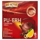 Big-Active Pu-Erh Herbata czerwona o smaku cytrynowym 72 g (40 torebek)