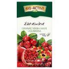 Big-Active Express Yourself żurawina granat yerba mate i guarana Herbatka 45 g (20 torebek)