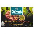 Dilmah Cejlońska czarna herbata z aromatem marakui granatu i wiciokrzewu 30 g (20 torebek)