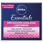 NIVEA Essentials Intensywnie regenerujący krem na noc cera sucha i wrażliwa 50 ml