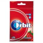 Orbit Strawberry Guma do żucia bez cukru 35 g (25 drażetek)