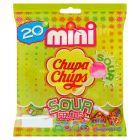 Chupa Chups Mini Kwaśne lizaki wielosmakowe 120 g (20 sztuk)