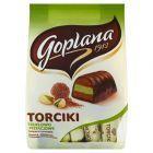 Goplana Torciki truflowo-pistacjowe Cukierki w czekoladzie 256 g
