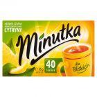 Minutka Herbata czarna aromatyzowana o smaku cytryny 56 g (40 torebek)