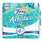 Foxy Artistico Papier toaletowy naturalnie biały 4 rolki