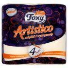 Foxy Artistico Papier toaletowy pomarańczowy 4 rolki