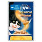 Felix Sensations Sauces Karma dla kotów z rybą w sosie z pomidorami 100 g