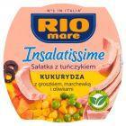 Rio Mare Insalatissime Mais e Tonno Gotowe danie z warzyw i tuńczyka 160 g