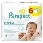 Pampers Sensitive chusteczki dla niemowląt 6 x 56 sztuk