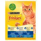 Friskies Sterilised z łososiem i dodatkiem warzyw Karma dla dorosłych kotów 300 g