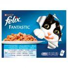 Felix Fantastic Uczta oceanu w galaretce Karma dla dorosłych kotów 12 x 100 g