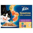 Felix Sensations Karma dla kotów w galaretce 1200 g (12 x 100 g)