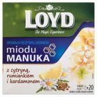 Loyd Herbata czarna z cytryną rumiankiem i kardamonem 30 g (20 torebek)