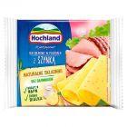 Hochland Ser kremowy w plastrach z szynką 130 g