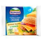 Hochland Ser kremowy w plastrach Cheddar 130 g (8 sztuk)