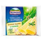 Hochland Ser kremowy w plastrach ze szczypiorkiem 130 g