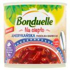 Bonduelle Na ciepło Amerykańska fasolka barbecue 430 g