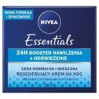 NIVEA Essentials Regenerujący krem na noc cera normalna i mieszana 50 ml